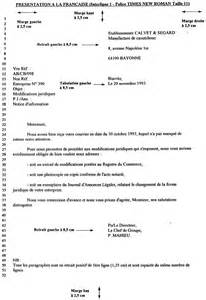 Exemple De Lettre Norme Afnor Modele Lettre Norme Afnor Document