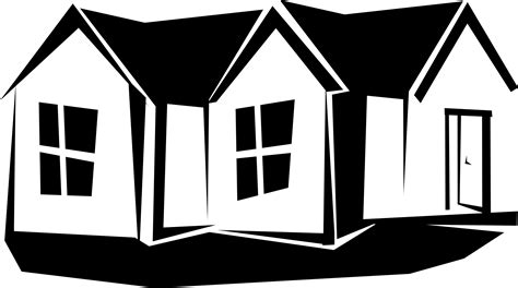 black and white home house images black and white clipart house plan 2017