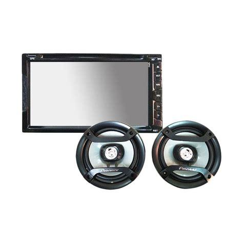 Paket Single Din Pioneer Bonus jual paket murah audio ultra linear ul 6990 gps unit pioneer ts g1634 speaker