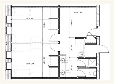 floor plans with in suite suites housing of nebraska lincoln
