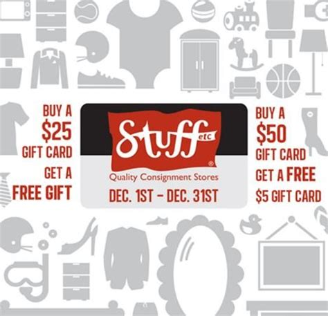 Shop Etc Gift Card - stuff etc gift card promotion stuff etc