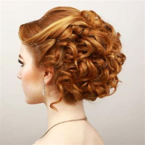 curly hairstyles to do short curly hair updos for prom modern hairstyle
