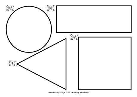Printable Cutting Worksheets For Preschoolers