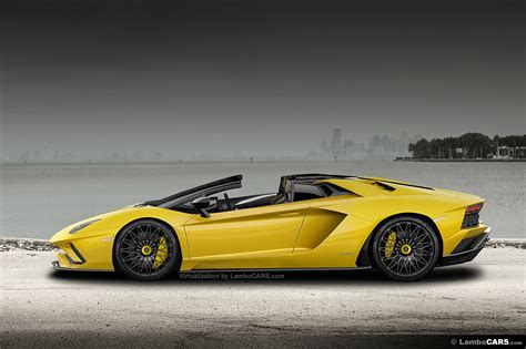 the s the s is back at lamborghini 2017 aventador s roadster 7
