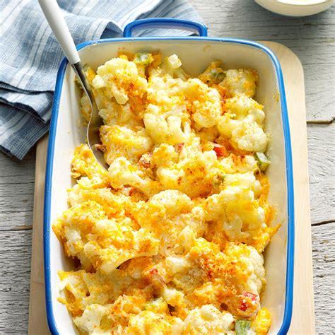 cauliflower casserole recipe taste of home
