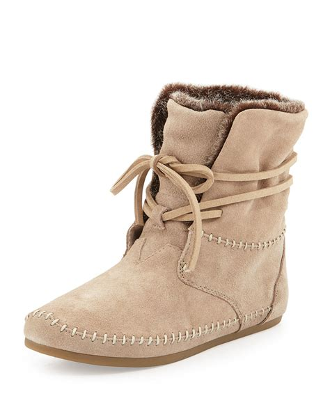 toms boots toms zahara suede boots in lyst