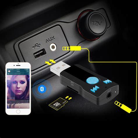 Bc07 Bluetooth Usb Receiver Receiver Adapter Mp3 Player bluetooth usb sd receiver adapter mp3 player car handfree calling 3 5mm aux audio a2dp