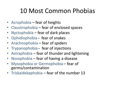 8 Most Common Phobias And How To Fight Them by ناپلئون