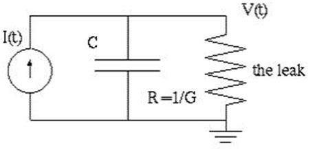leaky integrator circuit capacitance13