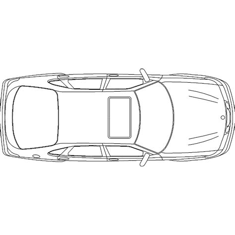 car plans cad and bim object car b48 polantis