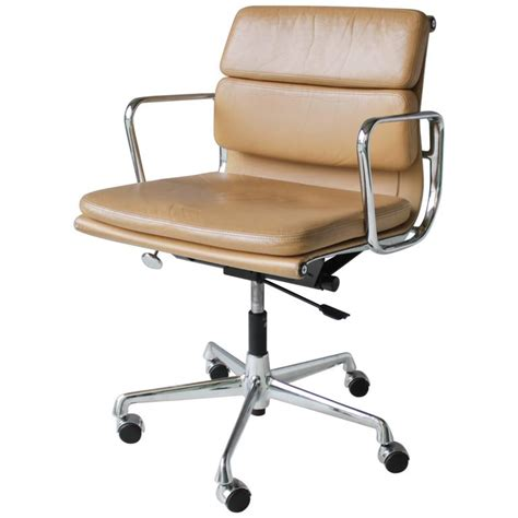 Eames Soft Pad Chair by Eames Ea 217 Soft Pad Chair At 1stdibs