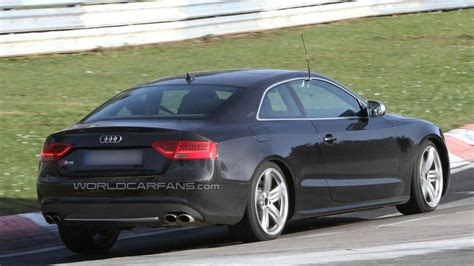 Audi S5 Facelift by Audi S5 Facelift Spied Undisguised