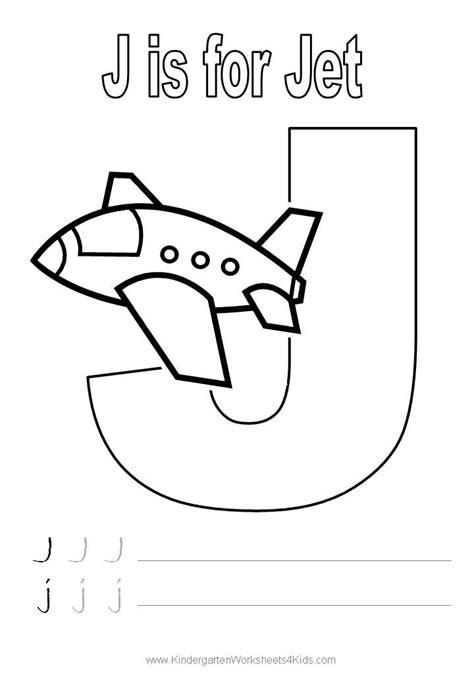 preschool coloring pages letter j letter j worksheets for pre k letter j handwriting