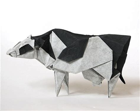 Cow Origami - 175 best cows images on