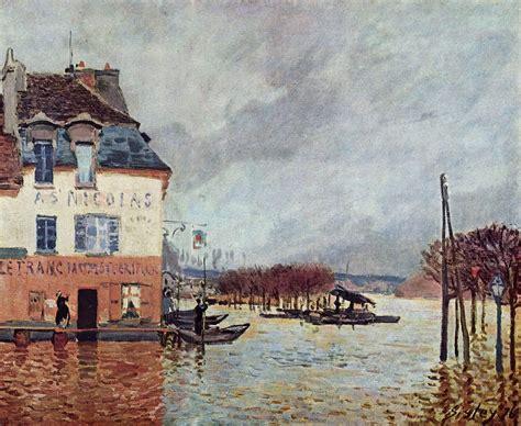 L Port by L Inondazione A Port Marly