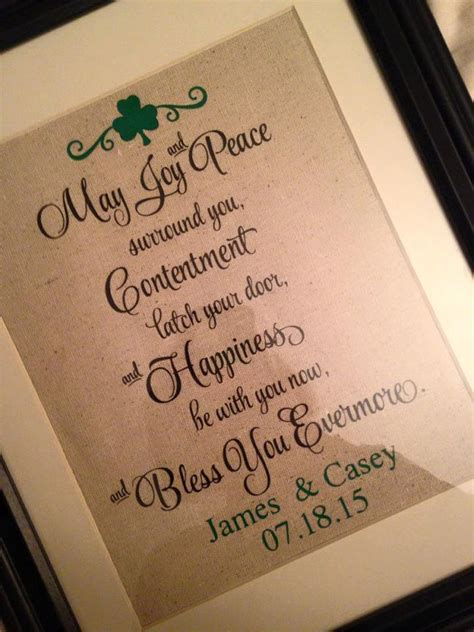 Wedding Blessing Presents marriage blessing wedding blessing wedding gift