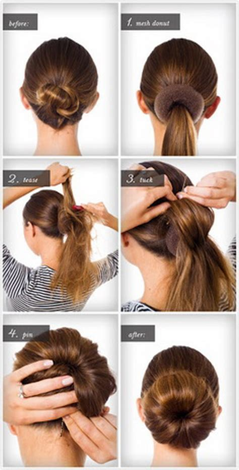 hairstyle steps for easy hairstyles for hair step by step