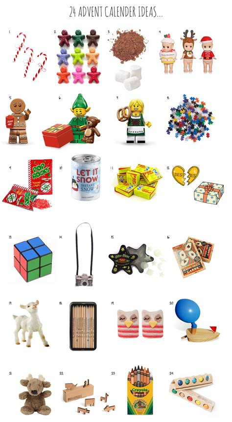 advent calendar gifts surprises