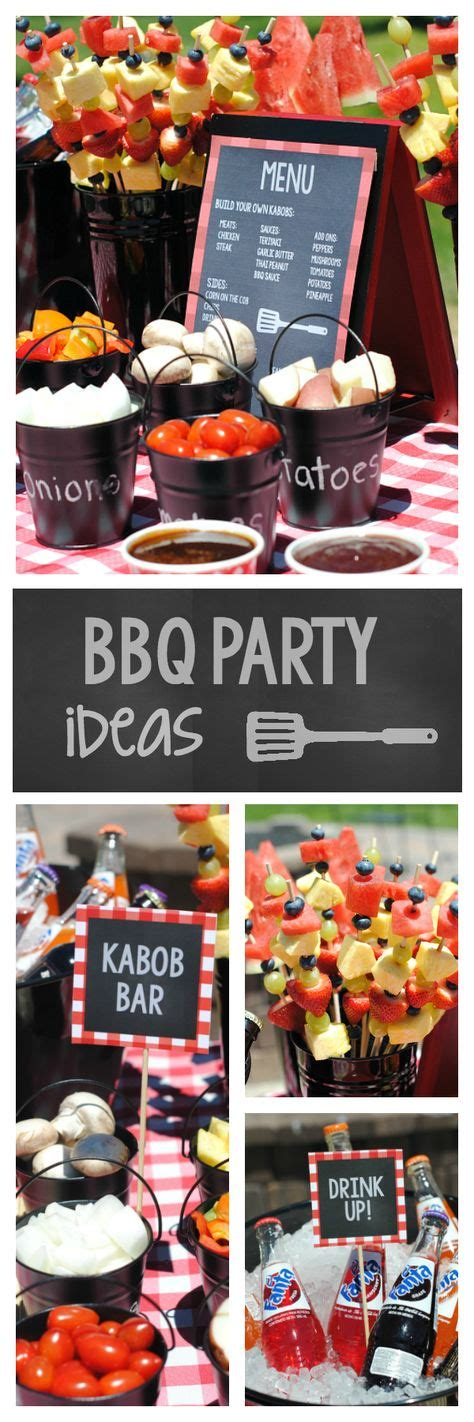 Backyard Bbq Party Menu Ideas Pinteres Gogo Papa Backyard Bbq Menu Ideas