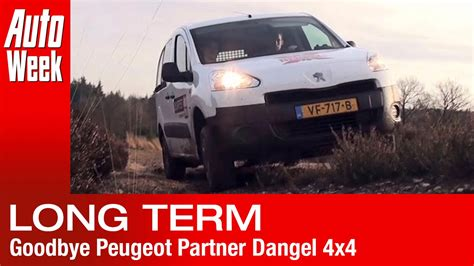 peugeot partner 4x4 afscheid duurtest peugeot partner dangel 4x4 youtube