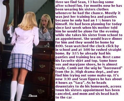 sissy schools for boys pg rated tg captions after school fun caption