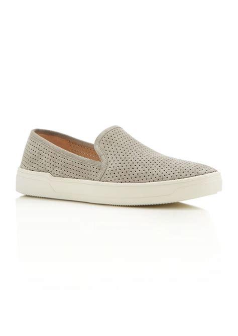 via spiga slip on sneakers via spiga via spiga galea perforated slip on sneakers