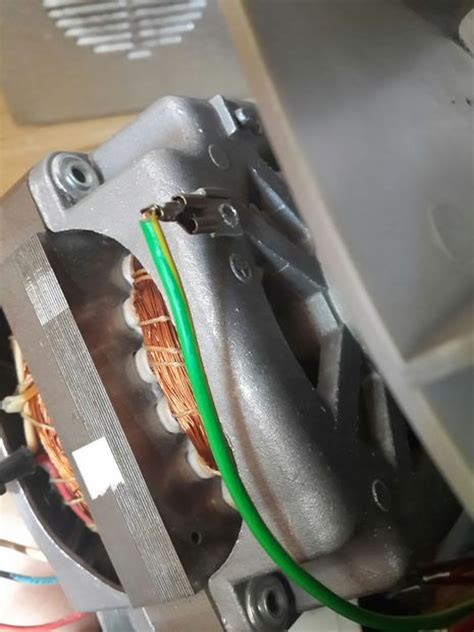 wiring clothes dryer tumble dryer motor 3 steps