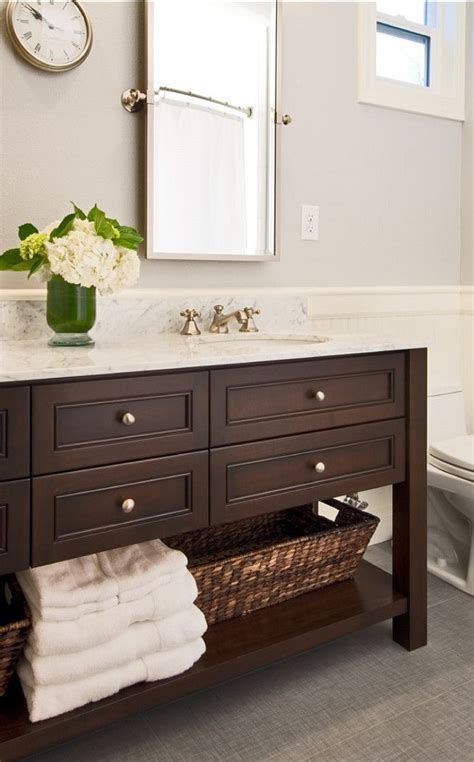 wood bathroom furniture 25 best ideas about bathroom vanities on