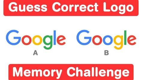 memory test 98 fail these logo memory test can you guess these