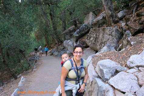 Hekeng Babi hiking with a baby in yosemite np shere y paul