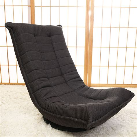 Legless Chair Japanese Floor Chair 360 Degree Rotation 3 Color Living