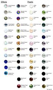 rhinestone colors swarovski rhinestone and color chart crystals 2