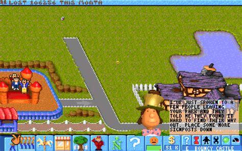 Theme Park Bullfrog | theme park by bullfrog electronic arts