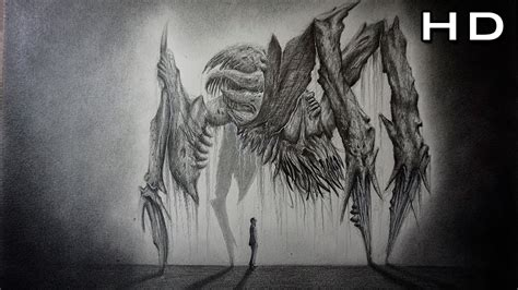 dibujos muy realistas c 243 mo dibujar un monstruo realista paso a paso dead space