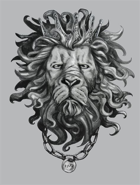 lion tattoo design commission by selfrecyclable on deviantart