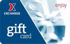 Shopmyexchange Gift Card - shop army air force exchange service