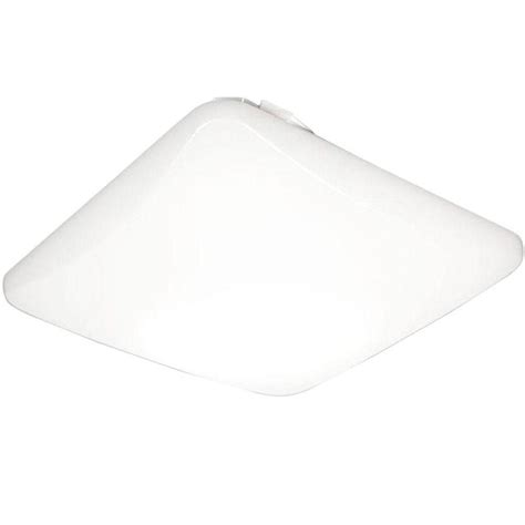 low clearance ceiling lights lithonia lighting 14 in square low profile white led