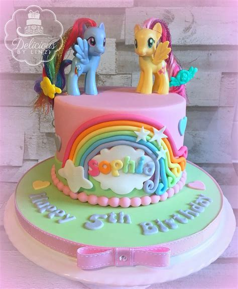Cupcakes Bday Pony Cake Birthday Kue Ulang Tahun pastel my pony birthday cake www deliciousbylinzi co uk my cakes 2015