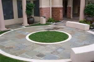 Circular Patio Designs Lendro Plan Garden Gate Landscaping Richmond Va Diy
