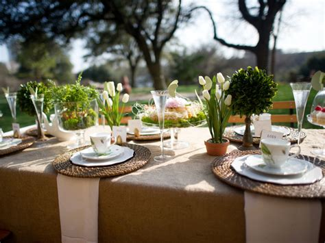 outdoor table setting serenity in design november 2013