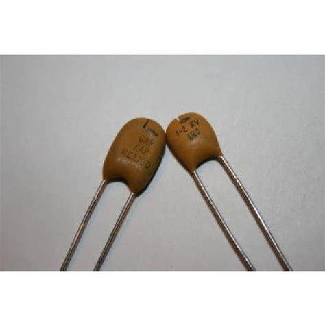 Spark Gap 1kv spark arc gap capacitor 1 2 kv 75pf gap kap fd2j8