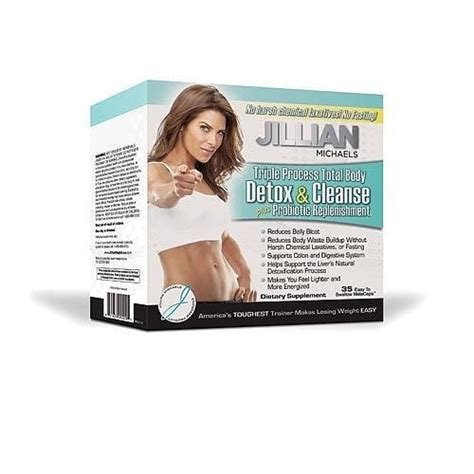 Jillian Detox And Cleanse Kit With Probiotic by The Prism Weight Loss Program Weight Loss Program 1200