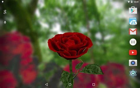 wallpaper 3d rose 3d rose live wallpaper free download apk for android