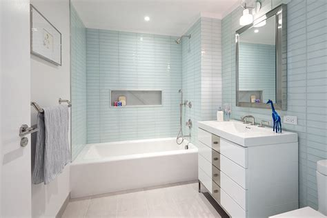 Modern White Tile Bathroom by Bathroom Zillow Digs Zillow