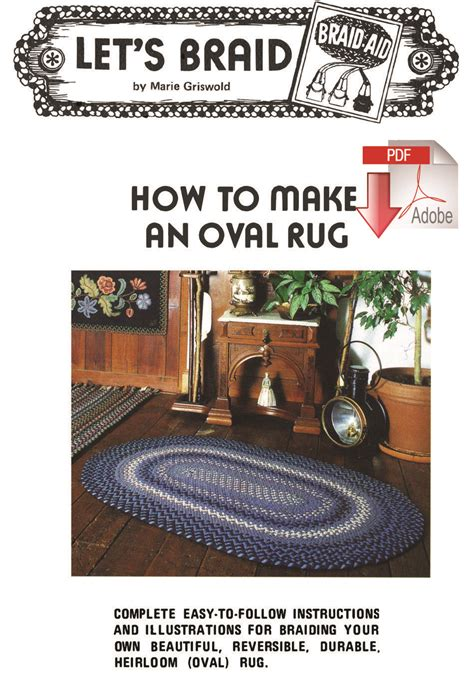 pattern making books download how to make a braided oval rug pattern download rug