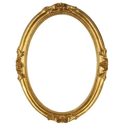 cornici 30x40 cornice ovale in legno quot francesina quot oro 30x40 cm