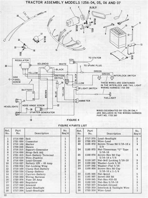 bolens voltage regulator wiring diagram bolens tractor