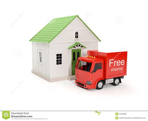 free delivery to your home stock photos image 25944853