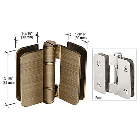 Bi Fold Shower Door Hinges Crl Zur01abr Zurich 01 180 Degrees Glass To Glass Outswing Or Inswing Bi Fold Hinge
