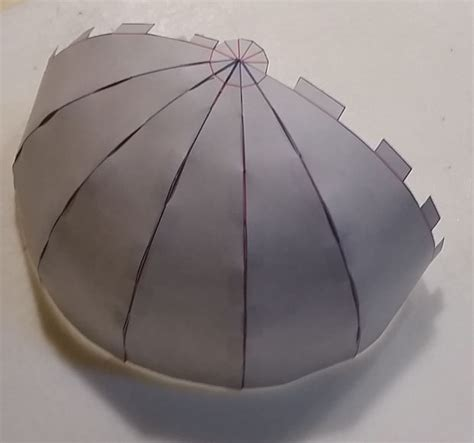 How To Make Sphere From Paper - paper globe 12 pattern all